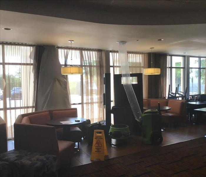 water damage hotel