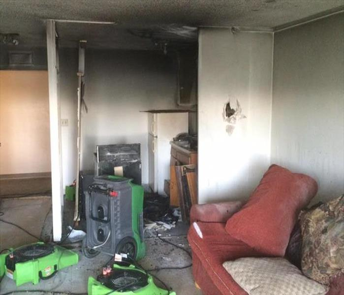 Small Fire in Apartment Unit